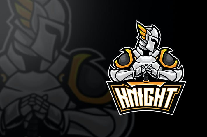 Thumbnail for White Knight Esport Logo