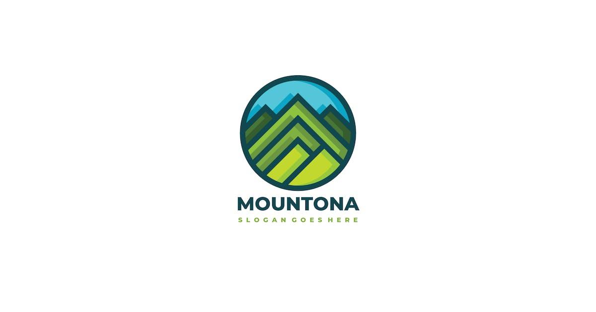 Download mountona- mountains logo by 3ab2ou