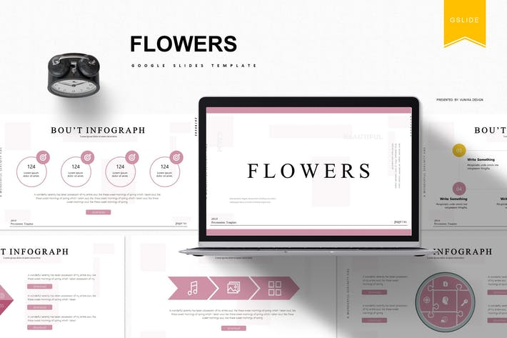 Thumbnail for Flowers | Google Slides Template