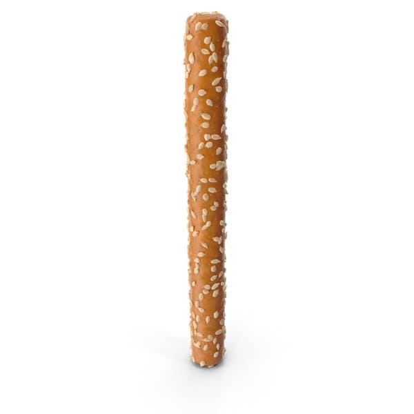 Mini Pretzel Stick with Sesame
