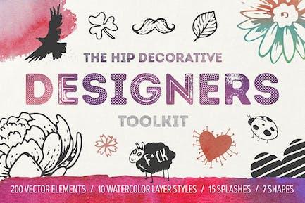 The Hip Decorative Toolkit