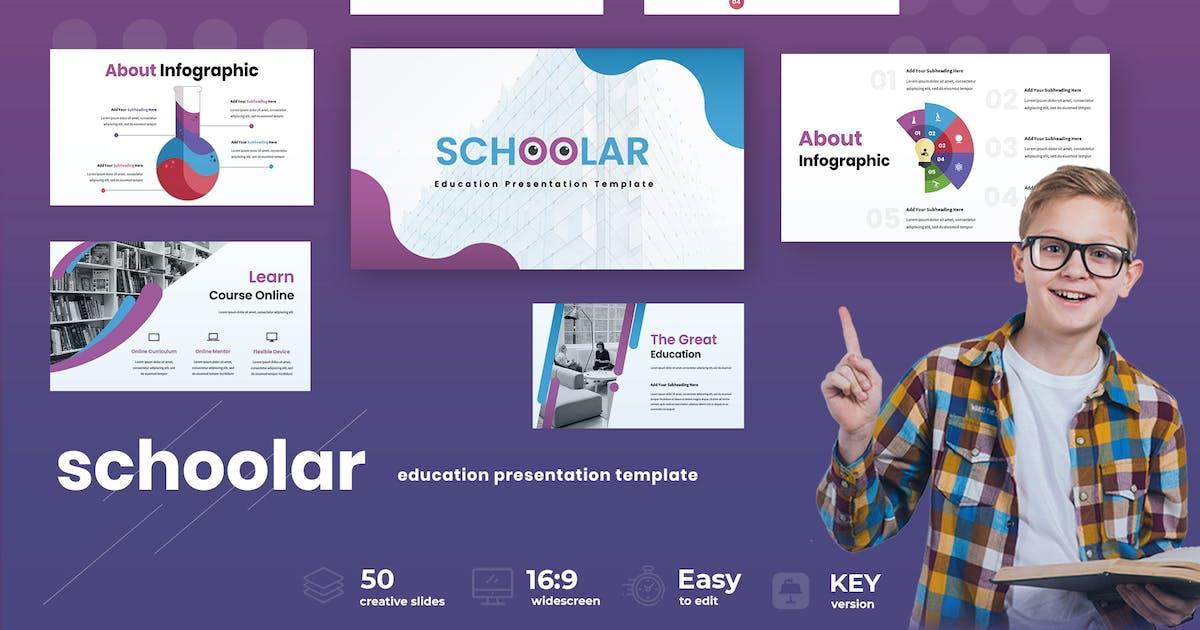 Download Schoolar  - Education Keynote Presentation by TMint