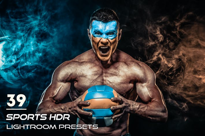 Cover Image For 39 Sports HDR Lightroom Presets