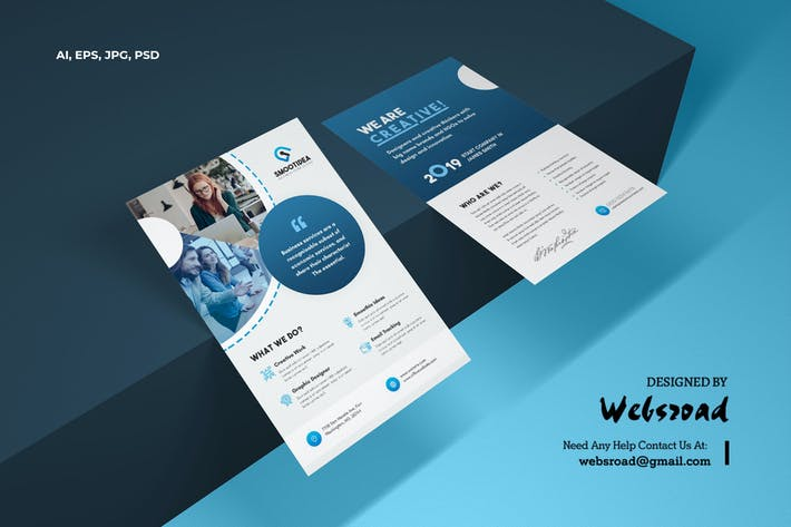 Thumbnail for Creative Business & Corporate Flyer Template