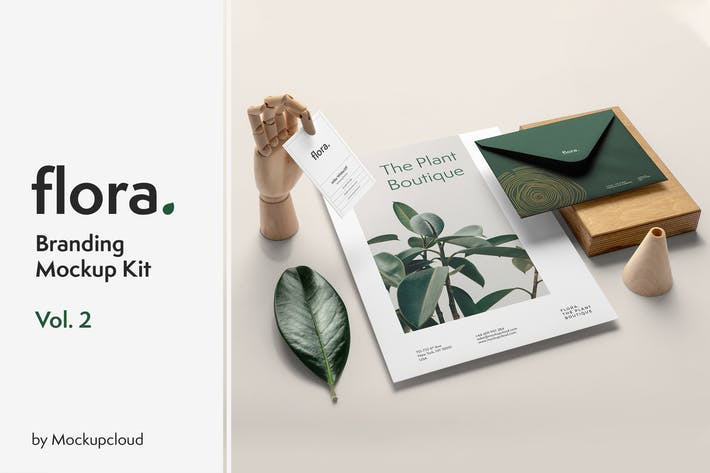 Thumbnail for Flora Branding Mockup Vol. 2
