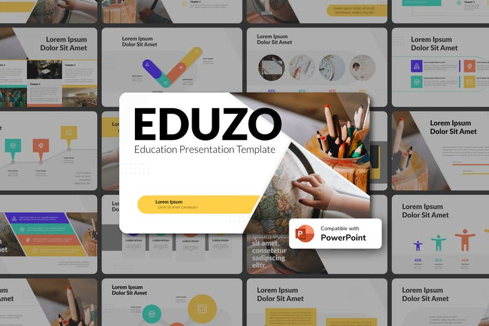 Thumbnail for EDUZO - Education PowerPoint Template