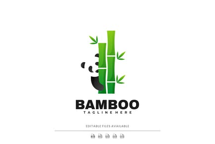 Bamboo Gradient Logo