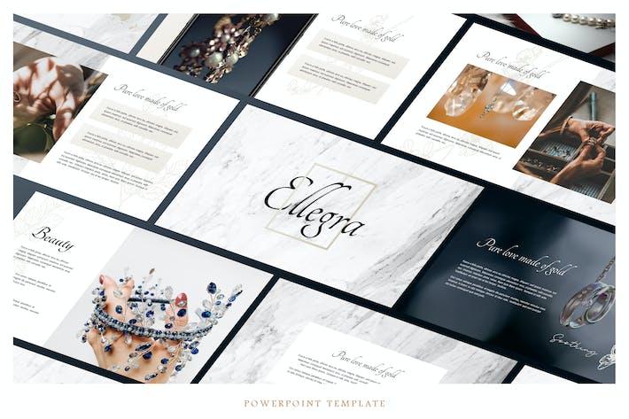 Thumbnail for ELLEGRA - Fashion Theme Powerpoint Template