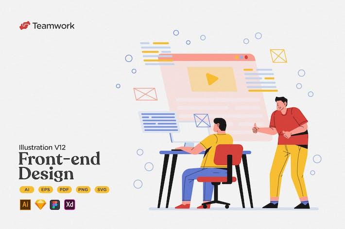 Thumbnail for Teamwork - Front-end Design & Development