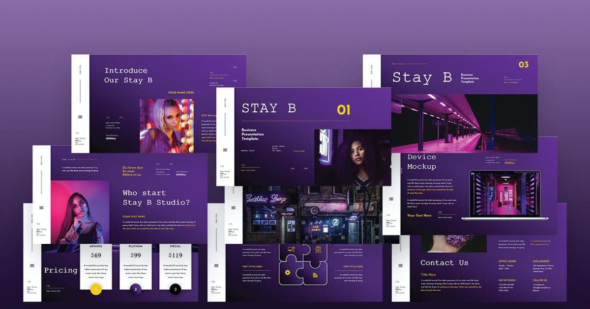 Download STAY B Power Point Presentation  VL by alhaytar