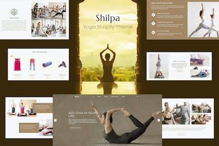 Shilpa - Магазин йоги и фитнес Shopify Тема