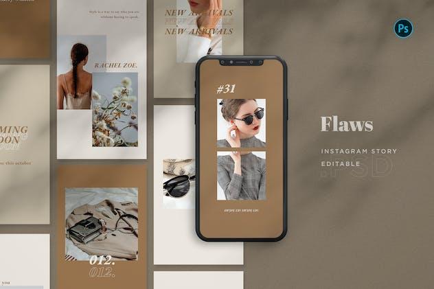 Flaws - Fashion Instagram Stories BL