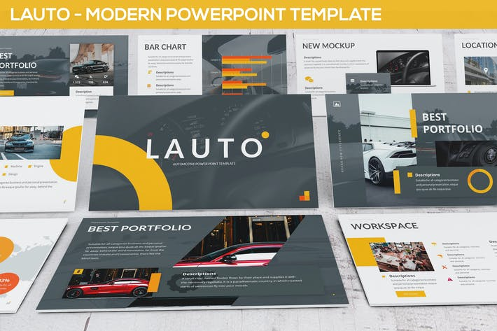 Thumbnail for Lauto - Modern Powerpoint Template