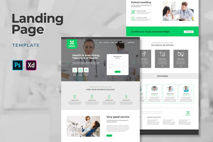 Thumbnail for Medical Landing Pages