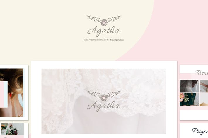 Thumbnail for Agatha - Wedding Planner Google Slides