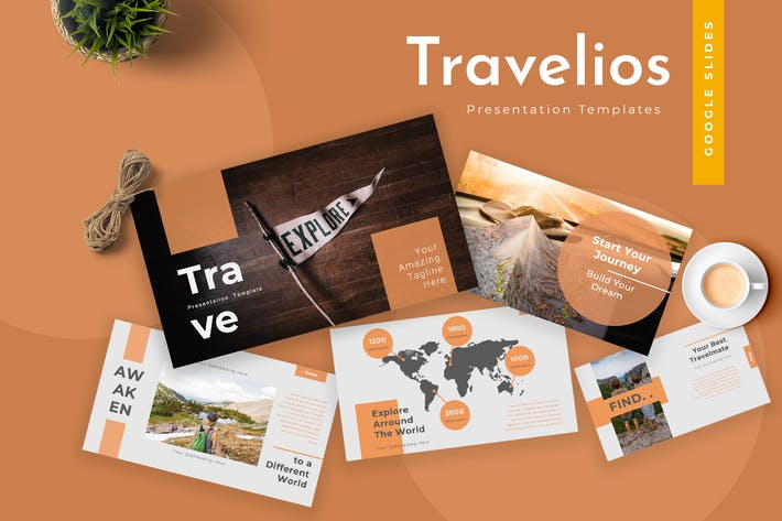 Thumbnail for Travelios Google Slides Präsentation