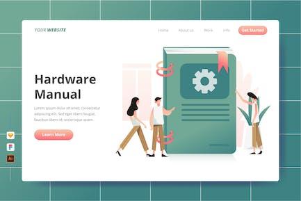 Hardware Manual - Landing Page