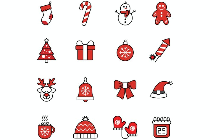 Thumbnail for Christmas - Icons Pack