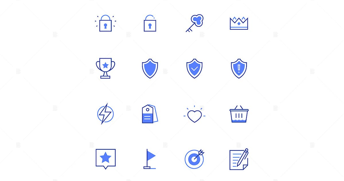 Download Business concepts - line design style icons by BoykoPictures