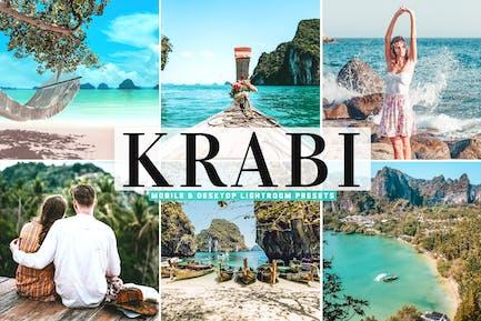 Пресеты Lightroom для мобильных и настольных компьютеров Krabi