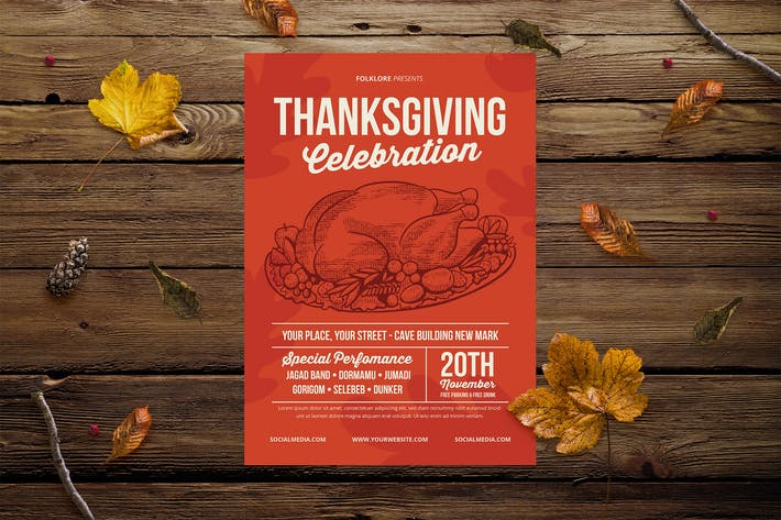 Thumbnail for Célébration de Thanksgiving Vintage