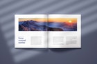 Square Catalogue Mockup