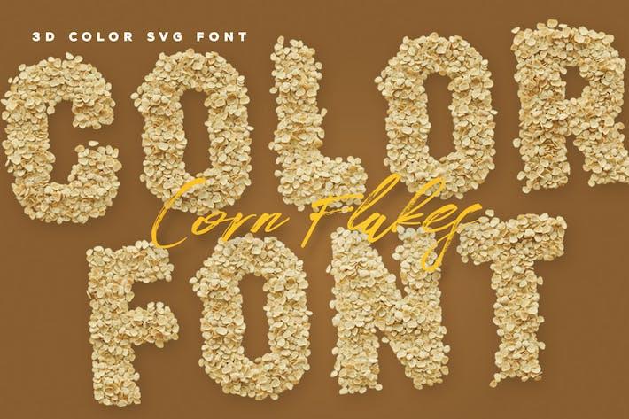 Corn Flakes Color Fonts
