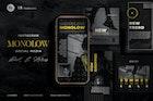Monochrome Instagram Black Marketing - Minimalist