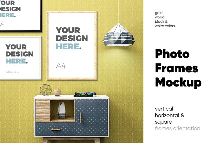 Thumbnail for Photo Frame Mockups