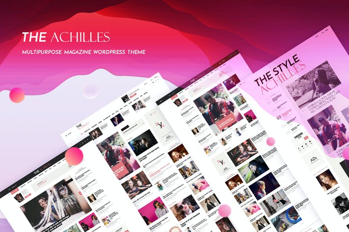 Thumbnail for Achilles - Multipurpose Magazine & Blog WordPress
