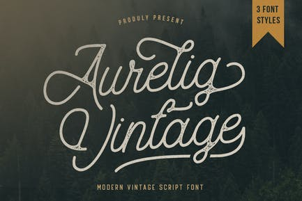 Aurelig - Guión vintage