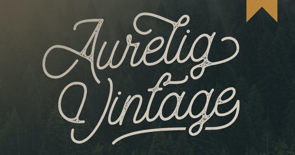 Download Aurelig Vintage Script by vultype