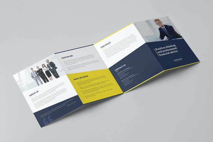 Thumbnail for Brochure – Finance and Business 4-Fold A5