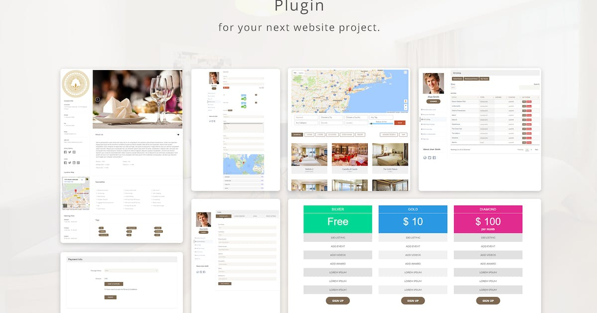 Download Hotel Listing by e-plugins