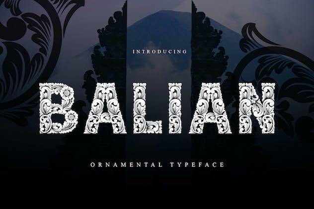 Balian Typeface