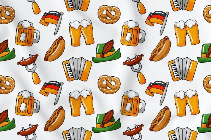 Thumbnail for Oktoberfest Seamless Pattern Vol. 1