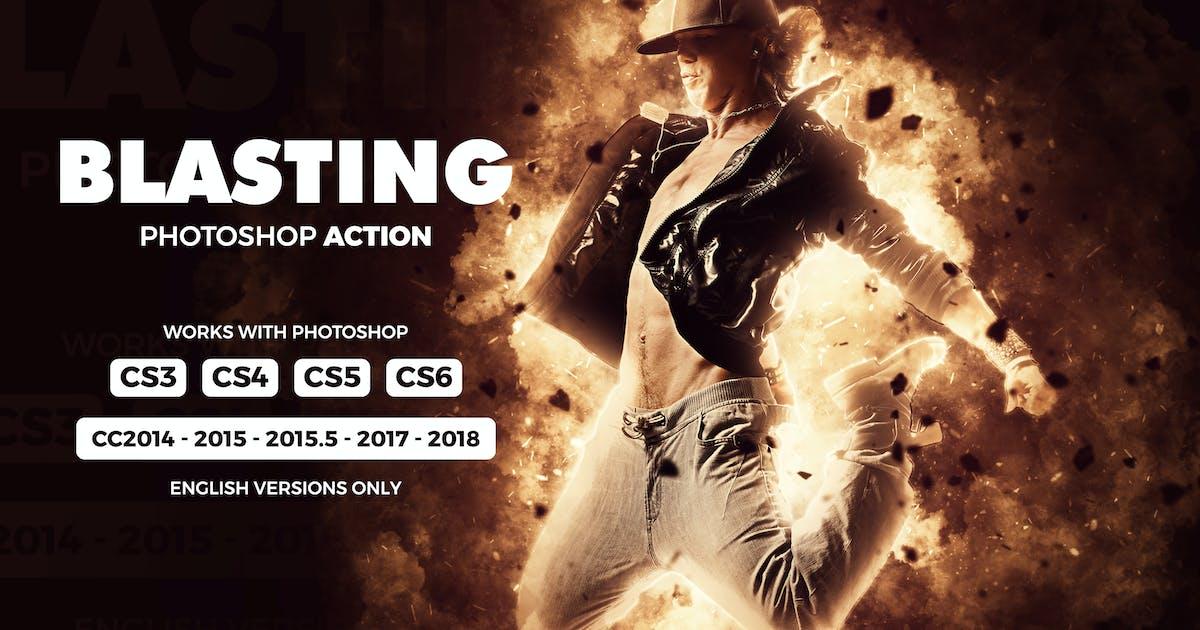 Blasting Photoshop Action by Hemalaya1