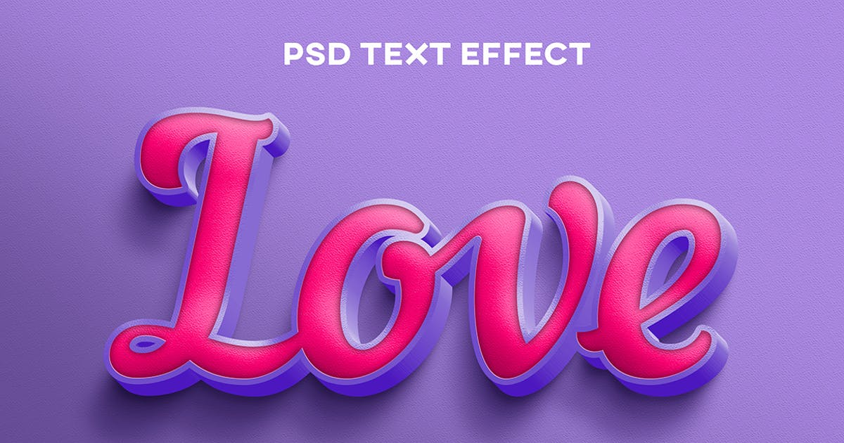 Download Purple pink text effect by wudelmbois