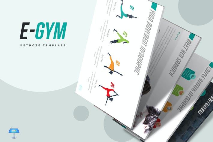 Thumbnail for EGym Keynote Template