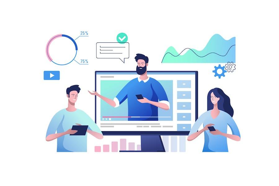 Comunicación por Vídeo en línea