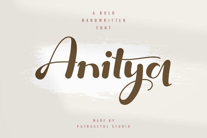 Thumbnail for Anitya - Gras manuscrit