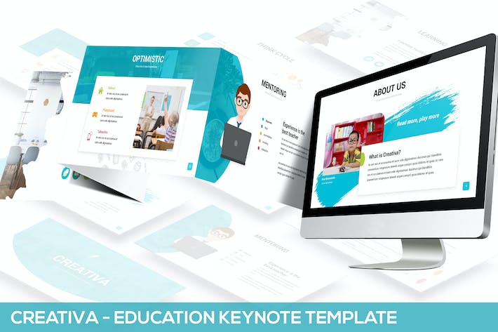 Thumbnail for Creativa - Education Keynote Template