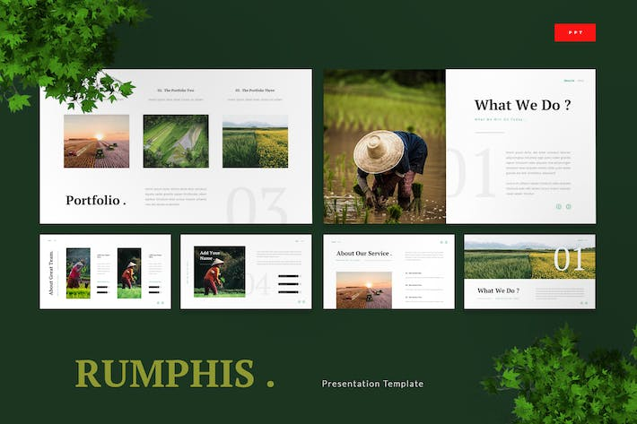Thumbnail for Rumphis - Farming Agriculture Powerpoint Template