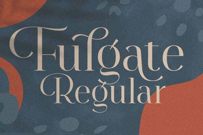 Thumbnail for Fulgate Regular