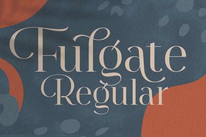 Thumbnail for Fulgate Régulier