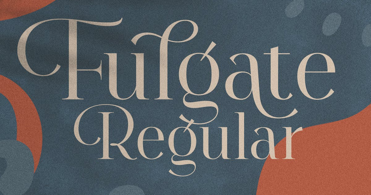 Download Fulgate Regular by Flavortype
