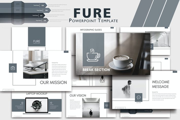 Thumbnail for FURE - Powerpoint Presentation Templates