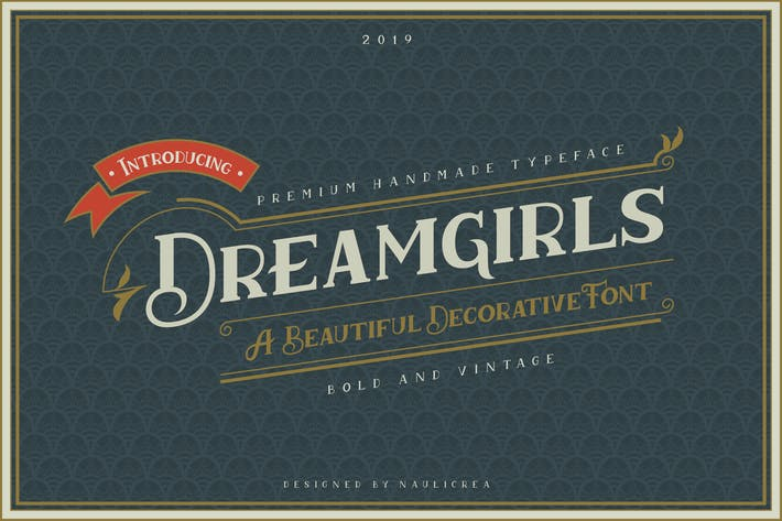 Dreamgirls - Vintage Decorative Serif Font