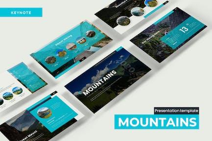 Mountains - Keynote Template