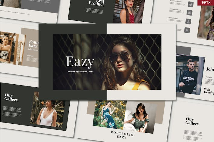 Thumbnail for Eazy - Presentation Templates